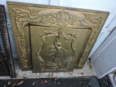 1890s FIREPLACE COVER AND SURROUND