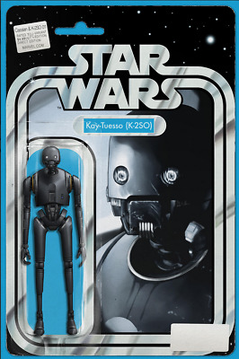 Star Wars : Cassian & K-2So #1 Jtc Exclusive Action Figure Variant Lim 3000 10/9
