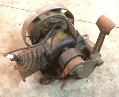 Great Running 1934 Maytag Model 11.111 Gas Engine Motor Hit And Miss Antique