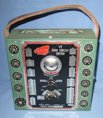 Vintage SECO GCT-8 VT Grid Circuit Vacuum Tube Tester VERY NICE!