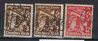 Germany 1935 First HItler Putsch SG 595-96 Used