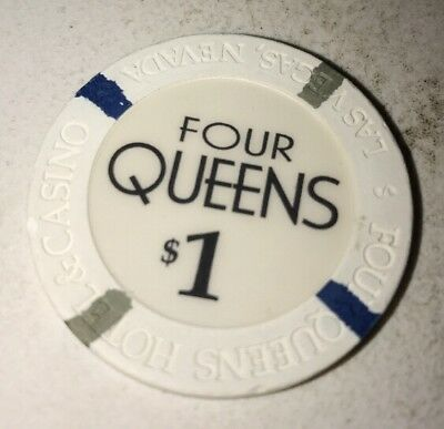 Four Queens $1 Casino Chip Las Vegas Nevada 2.99 Shipping