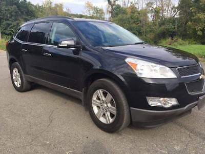 2011 Chevrolet Traverse Lt 1 2011 CHEVY TRAVERSE TOW PACKAGE THIRD ROW BACK UP CAMERA BLUETOOTH NO RESERVE