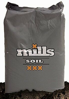 Palette 70 x 16kg/50L Blumenerde LightMix MILLS Nutrients Boden supersoil