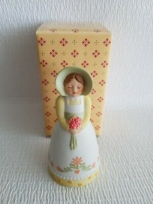 Avon Vintage Country Porcelain Bell Handpainted 1985