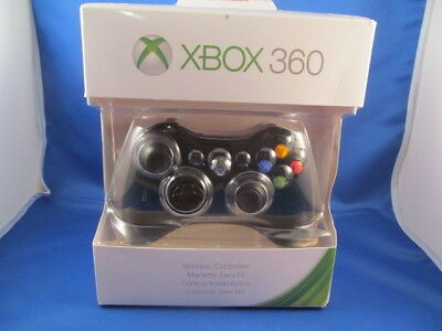 Microsoft Xbox 360 Wireless Controller Remote Black  New - Official