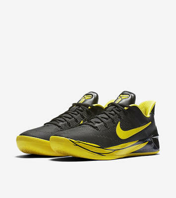 new style 48bad 4dc9a Nike Kobe AD Oregon Ducks PE Black Yellow mentality 922026-001 NCAA
