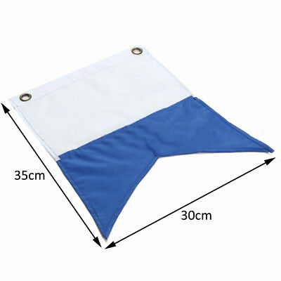 350 x 300mm Large Dive Boat Flag Sign For Scuba Diving Diver Boat Floating Use