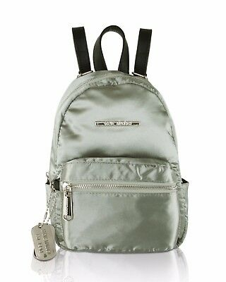 NWT Steve Madden Gray Bbailey Mini Small Travel Luggage Backpacks Purse