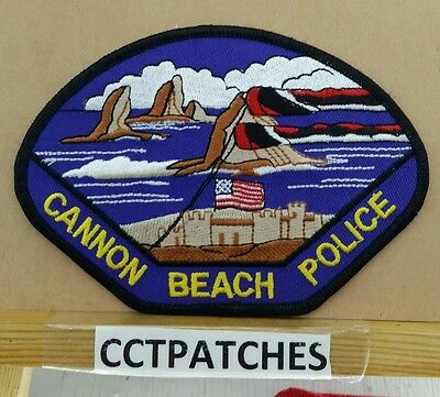 Cannon Beach, Oregon Police Shoulder Patch Or