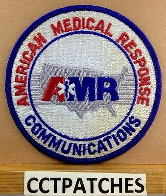 American Medical Response Communications Emt Ems Patch