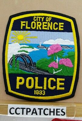 City Of Florence, Oregon Police Shoulder Patch Or