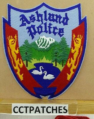 Ashland, Oregon Police Shoulder Patch Or