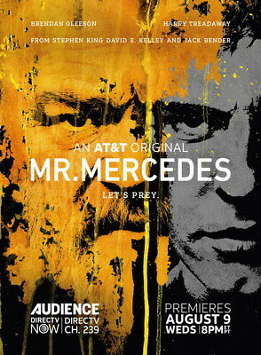 "001 Mr Mercedes - Brendan Gleeson Thriller USA TV Show 24""x32"" Poster"