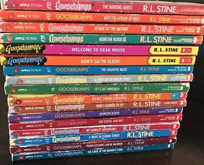 Goosebumps R.L. Stine #17 Why I'm Afraid of Bees #1322