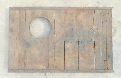 Steampunk wood wooden Mould/mold of Industrial machine décor project my23