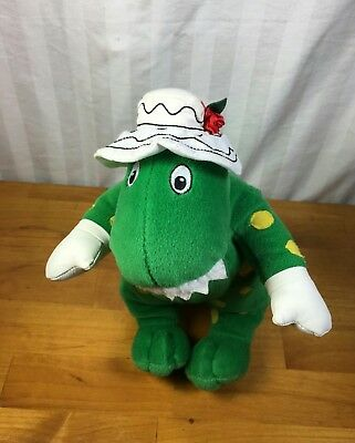 The Wiggles Dorothy The Dinosaur Dino Plush Stuffed Doll.