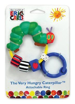 World of Eric Carle The Very Hungry Caterpillar Attachable Bead Rattle