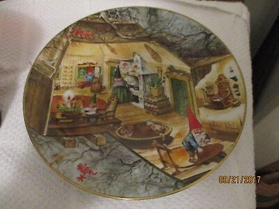 Legends of the Gnomes plate