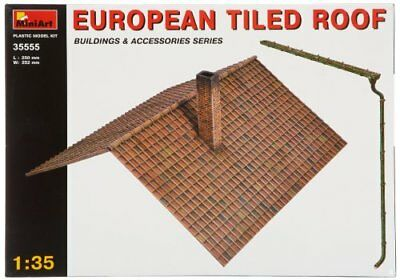 NEW Miniart 1:35  European Tiled Roof FREE SHIPPING