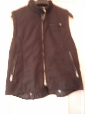 Girls Riding Gillet - Size XS - Black - Good Condition