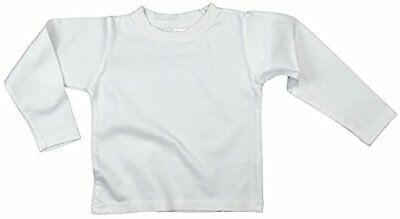 Earth Elements Baby Girls' Long Sleeve T-Shirt 12-18 Months White