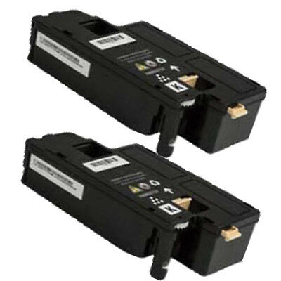 2PK Compatible Black Toner Cartridge for Phaser 6022(Xerox 6022),2000 page yield