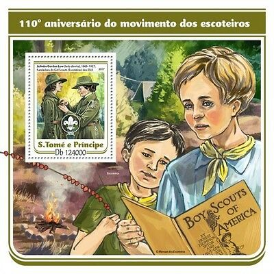 Z08 IMPERF. ST17108b Sao Tome and Principe 2017 Scout MNH Mint