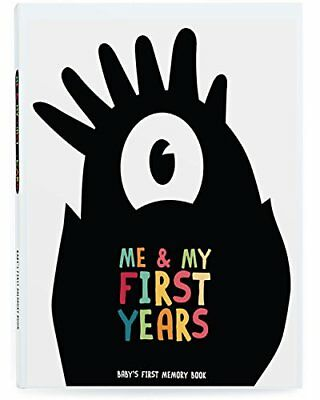 Me & My First Years Baby Memory Book - Monsters. Personalised album for photo...