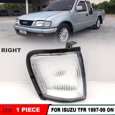Right Front Corner Lamp Light Clear Lens Fit 1997-99 Isuzu TFR TF Pickup Rodeo