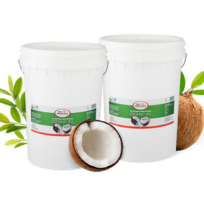 2 x 20 LITRE PAIL RAW EXTRA VIRGIN COCONUT OIL, CERTIFIED ORGANIC.