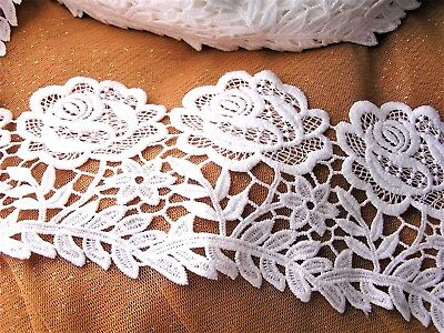 Mercerie Broderie★Dentelle guipure 10,5 cm HQ★ Scrabook Bricolage Couture K3