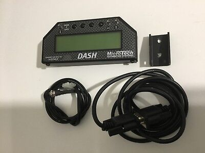 Microtech dash display as new 13b r100 rx2 rx3 rx4 rx7 rx8 fd3s drag snap on 20b