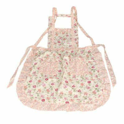 PF Stylish Rose Flower Pattern Women's Chefs Cooking Cook Apron Bib with Pockets