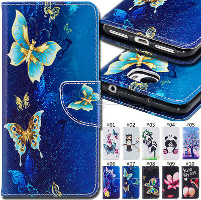 For Huawei Y5II Protective PU Leather Skin Shockproof Cover Wallet Stand Case