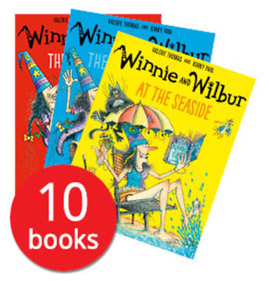 Winnie the Witch Collection - 10 Books