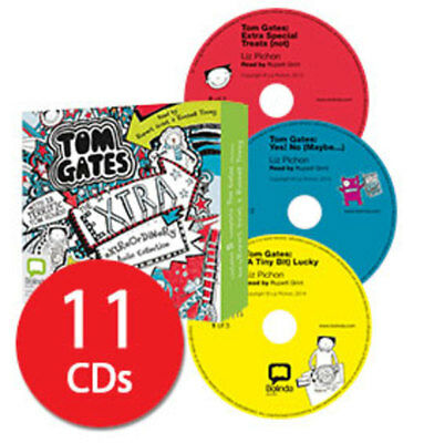 Tom Gates: The Extra Extraordinary Audio Collection - 11 CDs