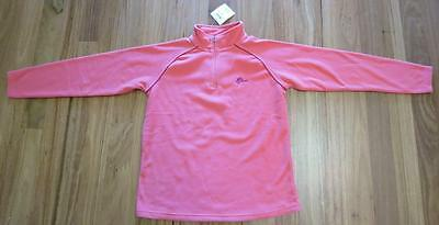 "Bnwt Ladies Coral Pink ""top-Tex"" Micro-Fleece Pullover Size Large"