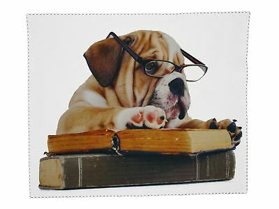 Glasses Cleaning Microfiber Cloth Bulldog Spectacle lens Microfibre Cleaner