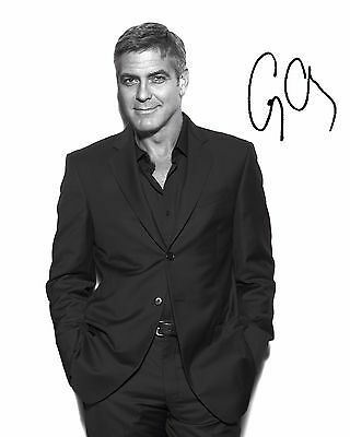 George Clooney #3 - 10X8 Pre Printed Lab Quality Photo Print - Free Delivery
