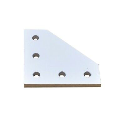 5 hole 90 degree joint board plate bracket connection for 2020 aluminum Tackle