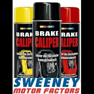 Deco Color Brake Caliper Drum Paint Spray Gloss Moto Red Black Blue Yellow White
