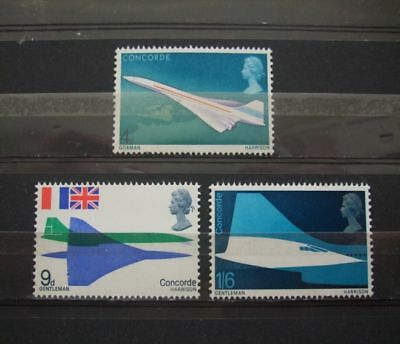 1969  Gb  Stamps-  Concorde- -- Mnh