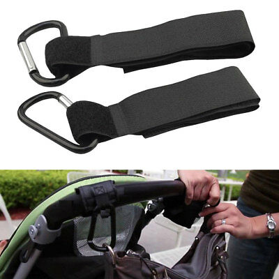 2pcs Stroller Hook Stroller Accessories Pram Hooks Hanger for Carriage Buggy