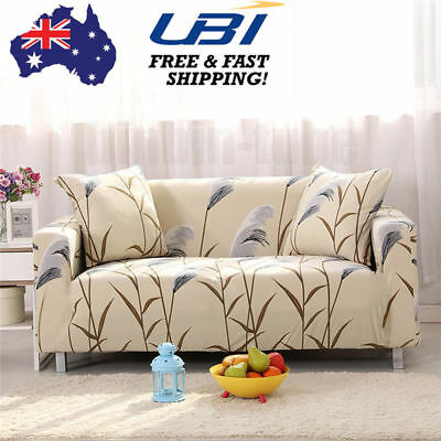 2 3 4 Seater Stretch Couch Sofa Lounge Cover Furniture Protector Slipcover Decor