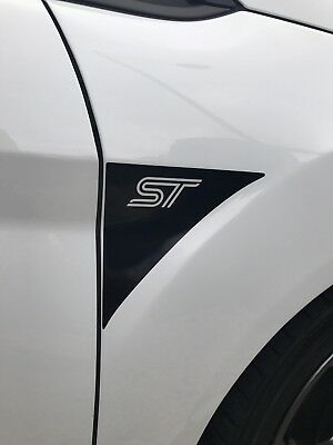Ford Fiesta Mk7/7.5 ST-Z-ZS Wing Badges - Pair