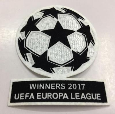 2017 Manchester United UEFA Champions League soccer Patch Coppa Badge
