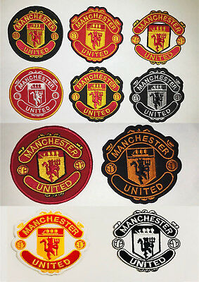 Manchester United Different Style Logos Embroidered Sew Or Iron On Patch