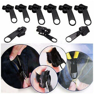 6pcs/1set FIX A ZIP Universal Zipper Heads Zip Replace Fixer Clothes Bags Pants