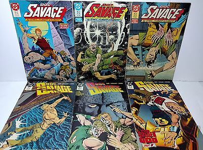 Doc Savage DC Comic Books Lot of 6 Comics from 1987 to 1988